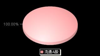 冠城大通600067股本结构图