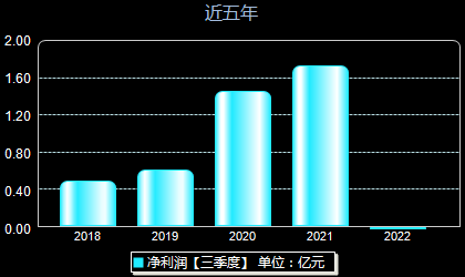 华伍股份300095年净利润