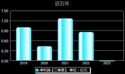 中亚股份300512年净利润