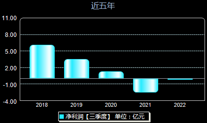 东华实业600393年净利润