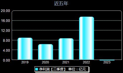 盘江股份600395年净利润