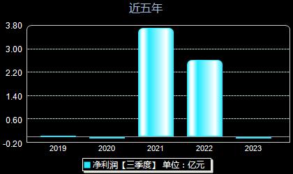 ST宏盛600817年净利润