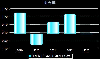 中铝国际601068年净利润